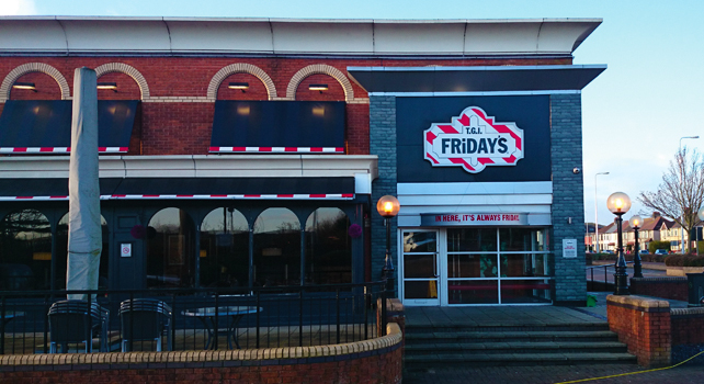 TGI-Friday's, Cardiff – project-1